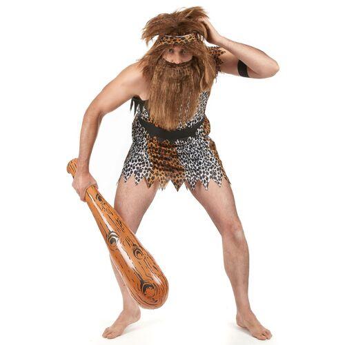 Vegaoo Höhlenmensch-Kostüm für Herren