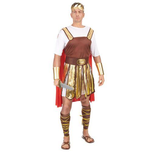 Vegaoo Römisches Soldaten-Kostüm für Herren - Einheitsgröße (42)
