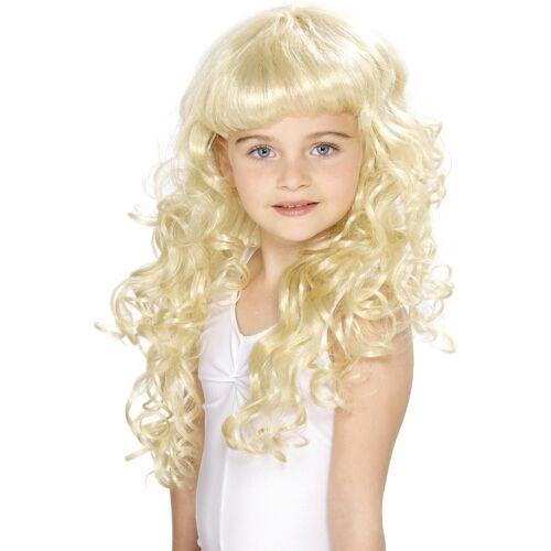 Vegaoo Blonde Prinzessin-Perücke