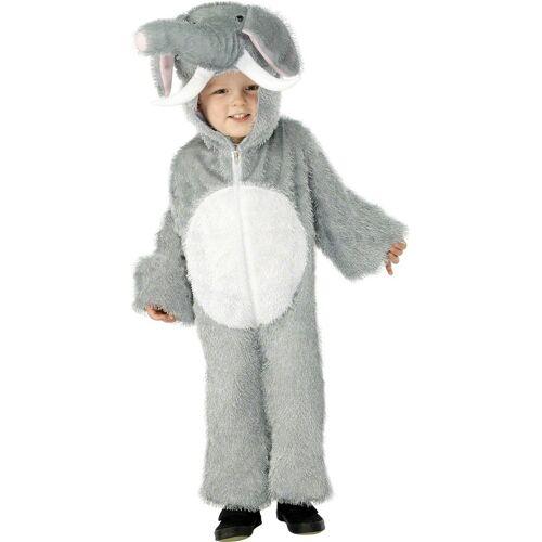 Vegaoo Elefanten-Kostüm für Kinder - 116/128 (4-6 Jahre)
