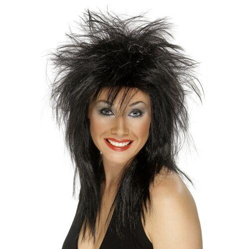 Vegaoo Rocker-Perücke für Damen Halloween