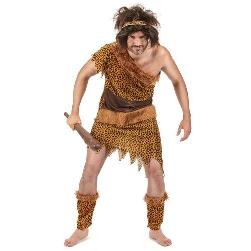 Vegaoo Steinzeitmenschen-Kostüm für Herren - XL