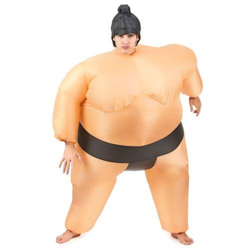 Vegaoo Aufblasbares Sumo-Kostüm