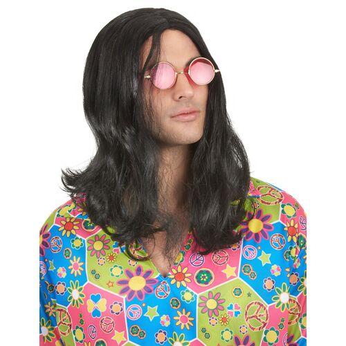 Vegaoo Hippie Perücke für Herren