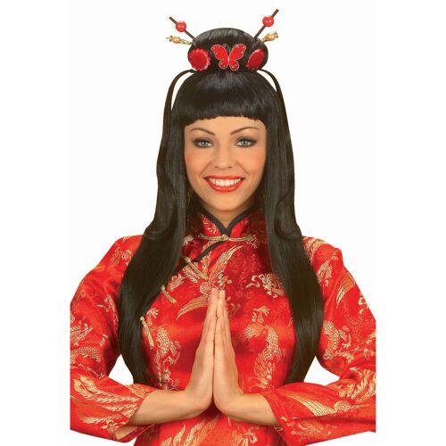 Vegaoo China Girl Perücke für Damen