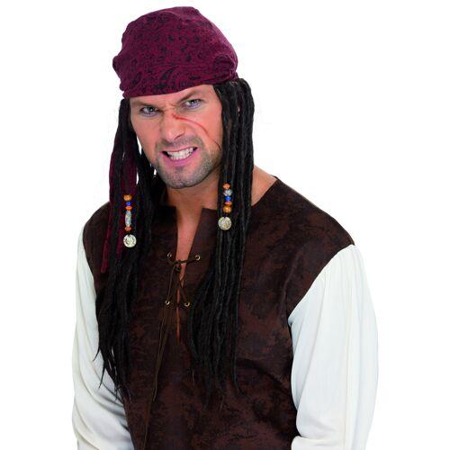 Vegaoo Piratenperücke mit Dreadlocks für Herren