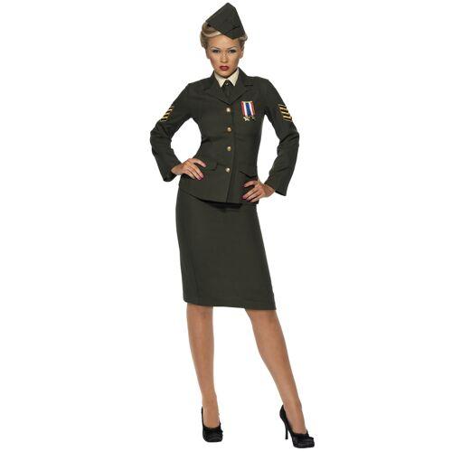 Vegaoo Militärisches Offiziers-Kostüm für Damen - M