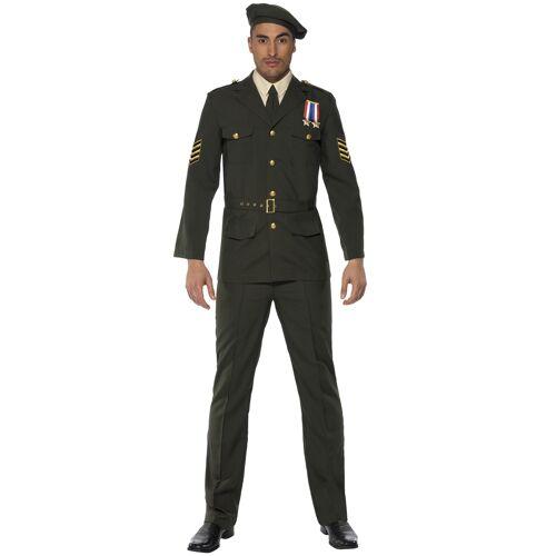Vegaoo Militär Offiziers-Kostüm für Herren - M