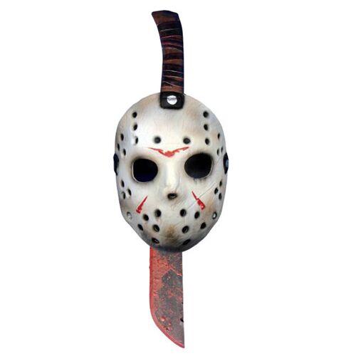 Vegaoo Maske und Machete von Jason aus Freitag der 13.