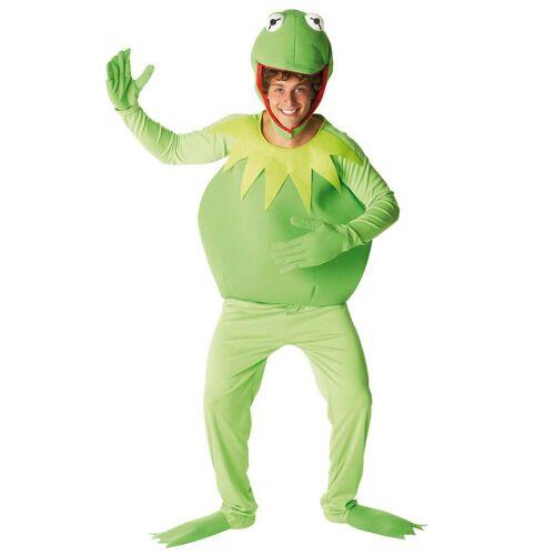 Vegaoo Kermit-Kostüm Muppets Show für Herren - M / L