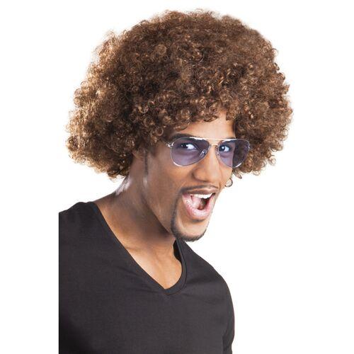 Vegaoo Afro-Perücke braun
