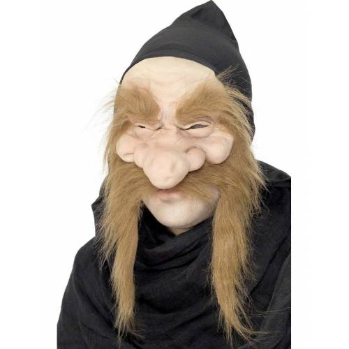 Vegaoo Alter Hexenmeister Maske