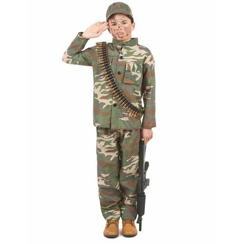 Vegaoo Soldaten Kinderkostüm - 122/134 (7-9 Jahre)