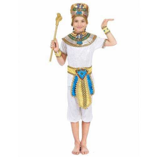 Vegaoo Ägyptisches Kostüm für Jungen - 122/134 (7-9 Jahre)