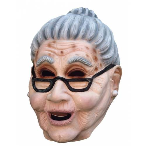 Vegaoo Großmutter Maske Erwachsene