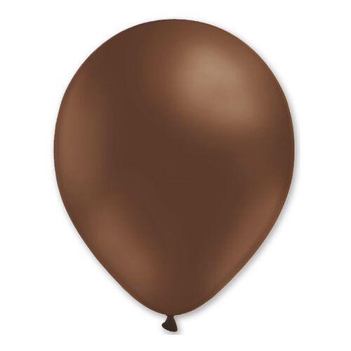 Vegaoo Luftballons Braun 27cm