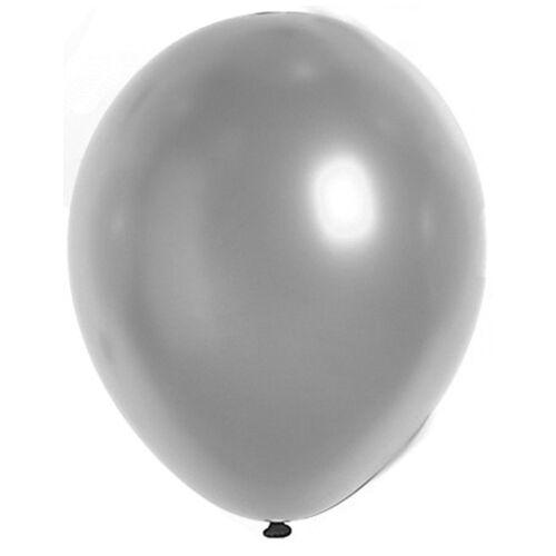 Vegaoo Luftballons Silber 29cm