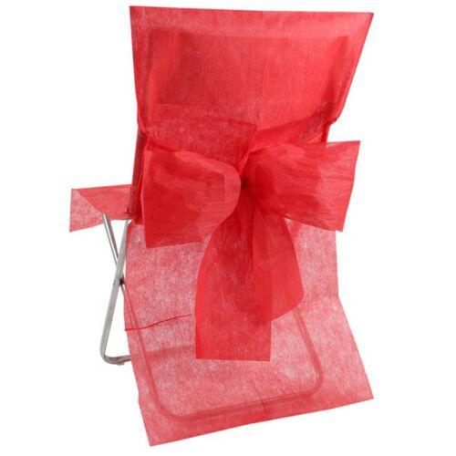 Vegaoo 10 rote Stuhl-Hussen