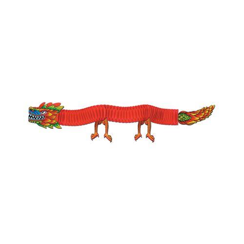 Vegaoo Drachen Wanddeko zum chinesischen Neujahr