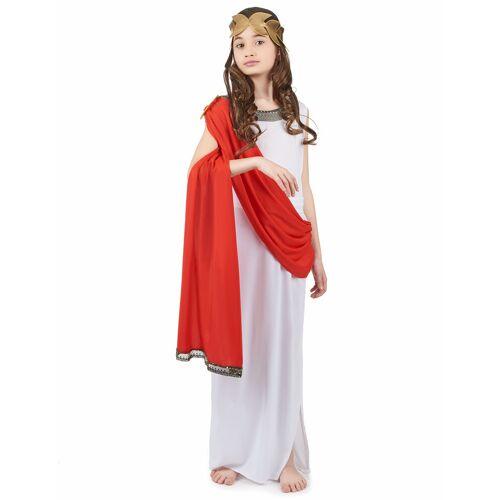 Vegaoo Römisches Göttinnen-Kostüm für Mädchen - 134/140 (10-12 Jahre)