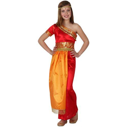 Vegaoo Kostüm indisches Mädchen - 152/158 (10-12 Jahre)