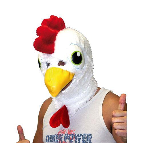 Vegaoo Hühnchen-Maske für Erwachsene