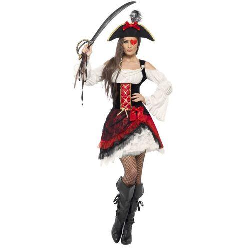 Vegaoo Edles Seeräuber-Kostüm für Damen - S