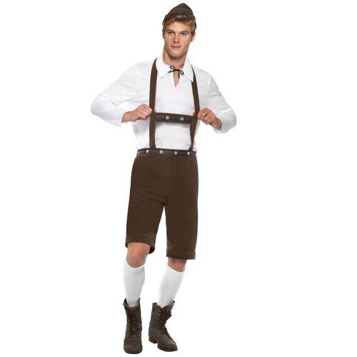 Vegaoo Bayrisches Trachten-Kostüm für Herren - M