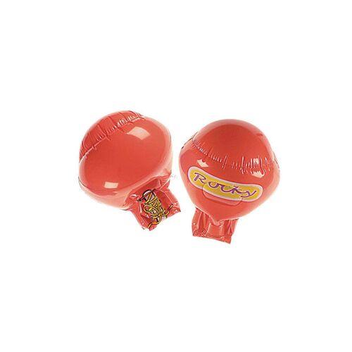 Vegaoo Aufblasbare rote Boxhandschuhe