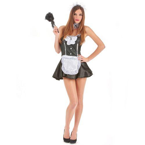 Vegaoo Zimmermädchen Kostüm für Damen - S