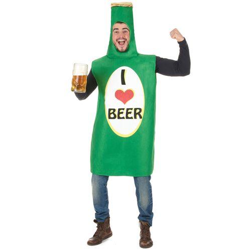 Vegaoo Bierflasche Kostüm für Erwachsene