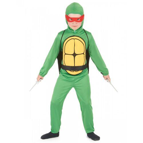 Vegaoo Turtle Schildkröten Kostüm für Jungen - 134/140 (10-12 Jahre)