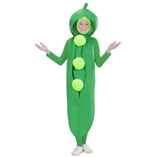Vegaoo Grüne Erbsen Kostüm für Kinder - 158 (11-13 Jahre)