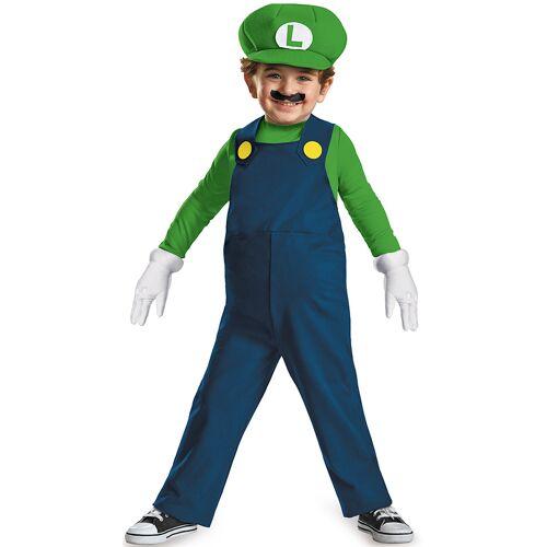 Vegaoo Kostüm Luigi für Babys - 86/92 (2 Jahre)