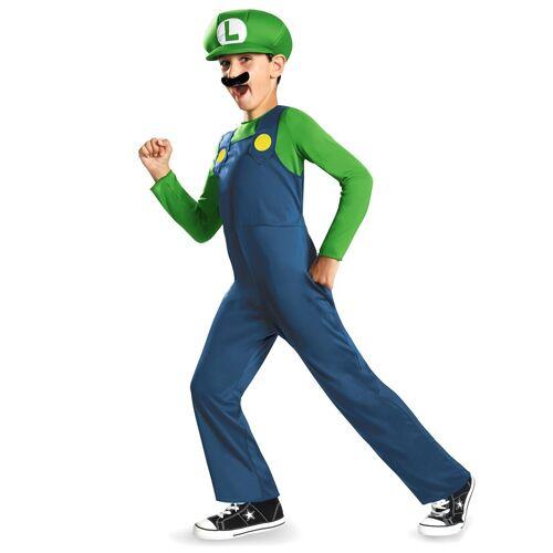 Vegaoo Kostüm Luigi für Kinder - 140/146 (10-12 Jahre)