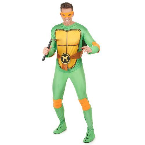 Vegaoo Michelangelo Ninja Turtles Kostüm für Erwachsene - XL