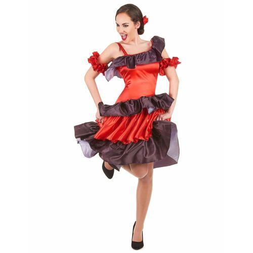 Vegaoo Flamenco Kostüm für Damen - S