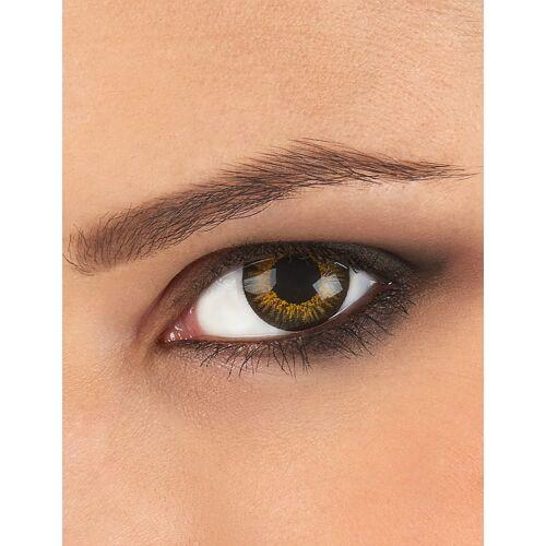 Vegaoo Kontaktlinsen in 3 Goldtönen