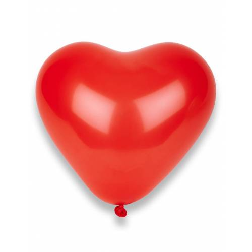 Vegaoo 100 rote Herz-Luftballons