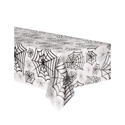 Vegaoo Transparente Spinnennetz Tischdecke