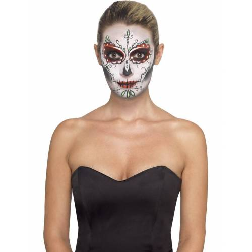 Vegaoo Make-up Set Totenkopf