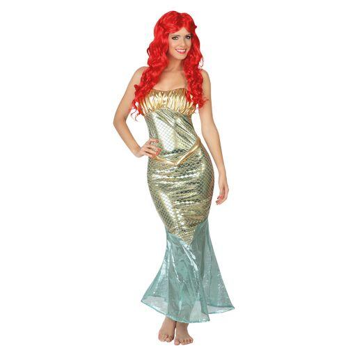 Vegaoo Meerjungfrau-Kostüm für Damen - M / L