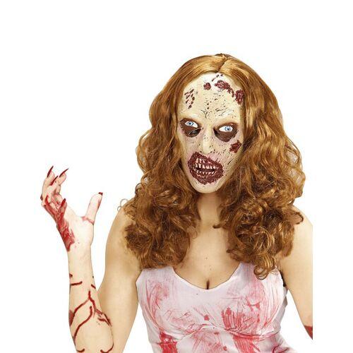Vegaoo Halloween Maske und Perücke Zombie