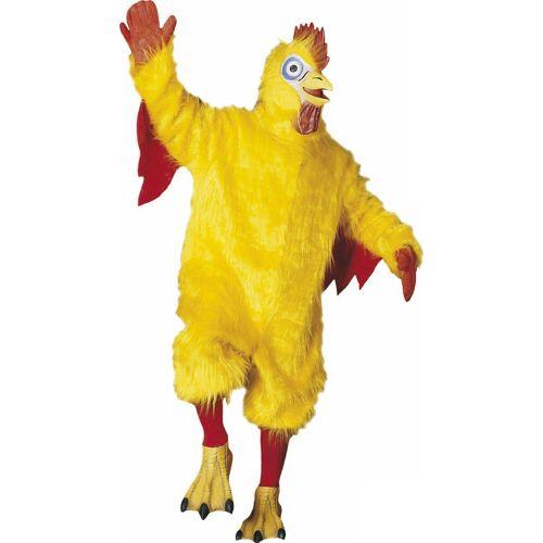 Vegaoo Maskottchen-Kostüm Huhn für Erwachsene