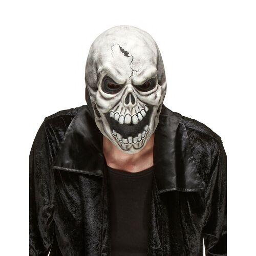 Vegaoo Schädel Maske aus Latex