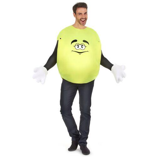 Vegaoo Bonbon-Kostüm in Gelb für Erwachsene