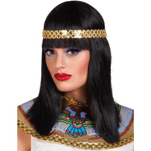 Vegaoo Kleopatra Perücke für Damen