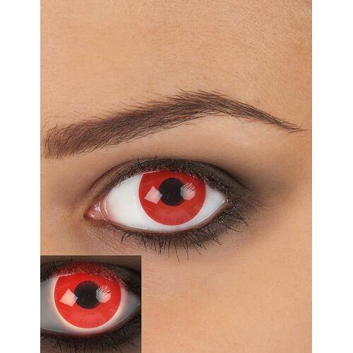 Vegaoo Kontaktlinsen blutrot 14,5mm