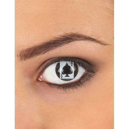 Vegaoo Kontaktlinsen Spielkarte