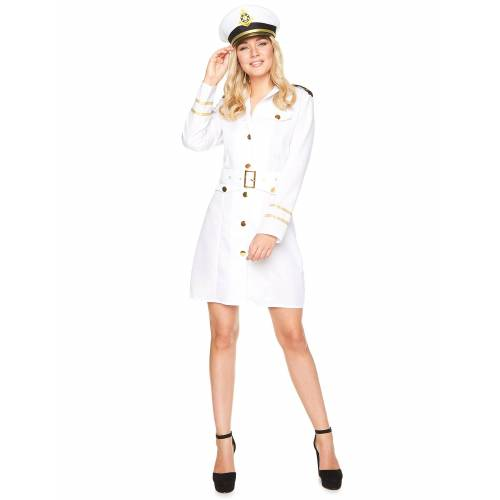Vegaoo Kapitänskostüm für Damen - L
